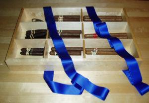 nytillverkning av cigarrlåda nobelfesten av snickeridesigner Håkan Eriksson
